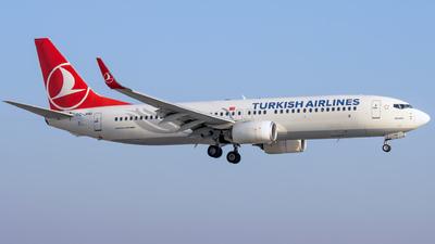 A picture of TCJHU - Boeing 7378F2 - Turkish Airlines - © Grzesiek Krupa