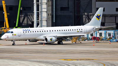 M-ABNK - Embraer 190-100LR - Myanmar Airways International (MAI)