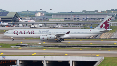 A7-AGD - Airbus A340-642X - Qatar Airways