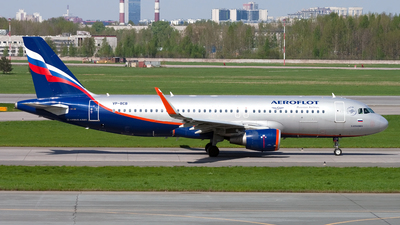 VP-BCB - Airbus A320-214 - Aeroflot