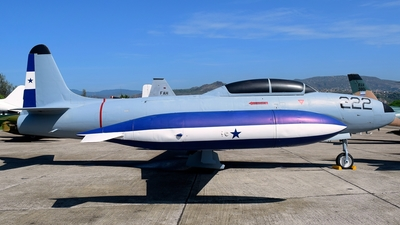 FAH-222 - Lockheed T-33A Shooting Star - Honduras - Air Force