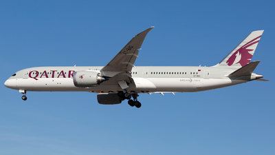 A7-BHD - Boeing 787-9 Dreamliner - Qatar Airways