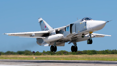RF-93798 - Sukhoi Su-24M Fencer - Russia - Air Force