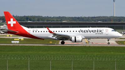 HB-JVU - Embraer 190-100IGW - Helvetic Airways