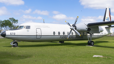 FAU572 - Fairchild-Hiller FH-227 - Uruguay - Air Force