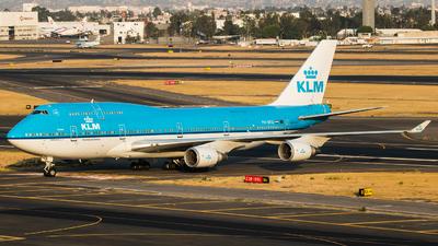 A picture of PHBFU - Boeing 747406(M) - [28196] - © Hector Montes de Oca