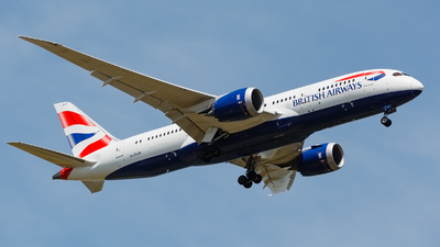 G-ZBJD - Boeing 787-8 Dreamliner - British Airways