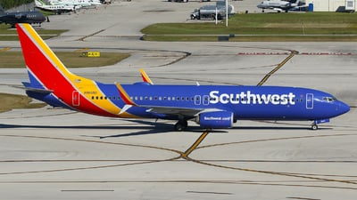 N8665D - Boeing 737-8H4 - Southwest Airlines