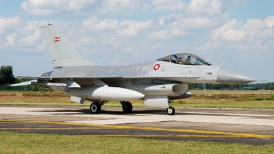 E-611 - General Dynamics F-16AM Fighting Falcon - Denmark - Air Force
