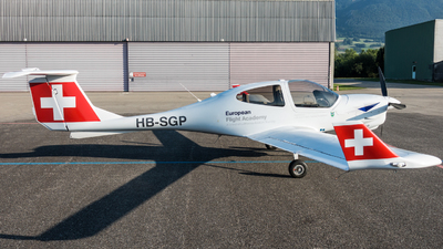 HB-SGP - Diamond DA-40NG Diamond Star - European Flight Academy