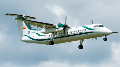 PNC-0259 - Bombardier Dash 8-Q311 - Colombia - Police