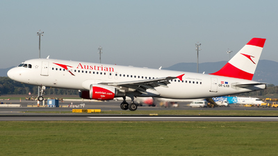 OE-LXB - Airbus A320-216 - Austrian Airlines
