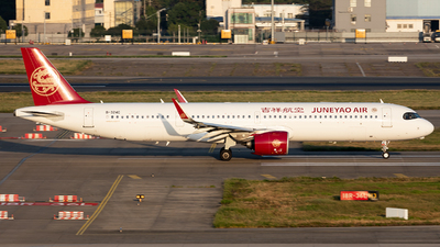 B-324C - Airbus A321-271NX - Juneyao Airlines