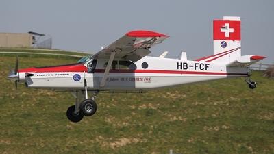 A picture of HBFCF - Pilatus PC6/B1H2 Turbo Porter -  - © Omar Rigamonti - ORIO SPOTTER