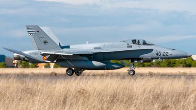 C.15-94 - McDonnell Douglas F/A-18A Hornet - Spain - Air Force