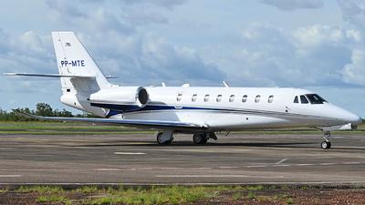 PP-MTE - Cessna 680 Citation Sovereign Plus - Private