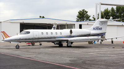N35WB - Bombardier Learjet 35A - Private
