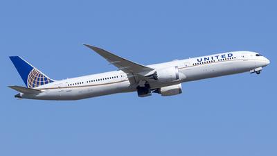 N91007 - Boeing 787-10 Dreamliner - United Airlines