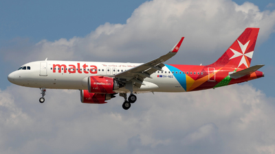 9H-NEC - Airbus A320-251N - Air Malta