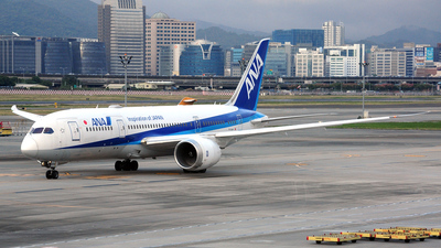 JA834A - Boeing 787-8 Dreamliner - All Nippon Airways (ANA)
