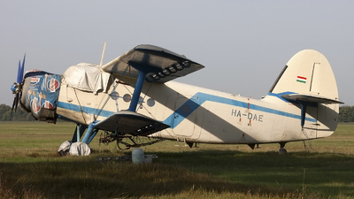 HA-DAE - PZL-Mielec An-2R - Private