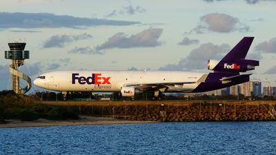 N522FE - McDonnell Douglas MD-11(F) - FedEx