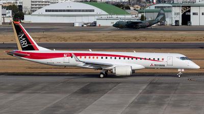 A picture of JA22MJ - Mitsubishi MRJ90STD - [10002] - © Jan H