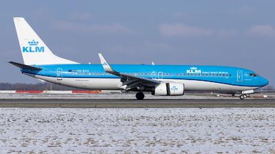 A picture of PHBXD - Boeing 7378K2 - KLM - © Loredana Cioclei