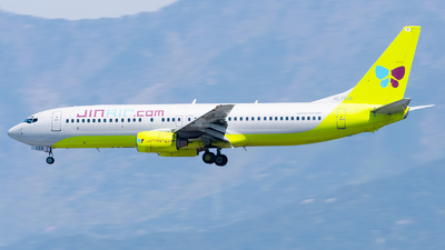 A picture of HL7558 - Boeing 73786N - Jin Air - © Ksavspotter