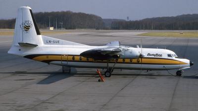 LN-SUE - Fokker F27-100 Friendship - Busy Bee
