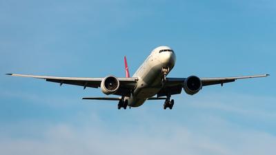 A picture of TCJJM - Boeing 7773F2(ER) - Turkish Airlines - © Aleksandr Alekhichev