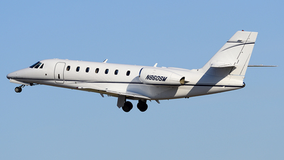 N860SM - Cessna 680 Citation Sovereign - Private