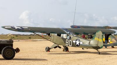 9H-CUB - Piper L-4H Cub - Malta Aviation Museum