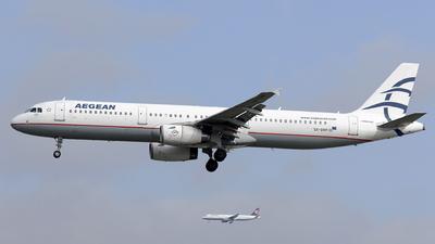SX-DVP - Airbus A321-232 - Aegean Airlines