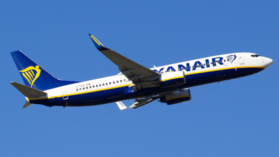 A picture of EIEBH - Boeing 7378AS - Ryanair - © Alejandro Gutierrez Martin