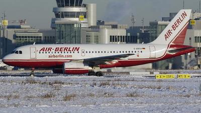 D-ABGA - Airbus A319-132 - Air Berlin