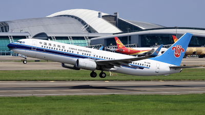 A picture of B1919 - Boeing 73781B - China Southern Airlines - © nibrage