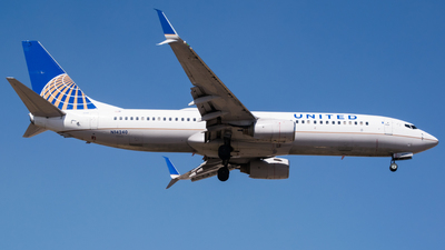 N14240 - Boeing 737-824 - United Airlines