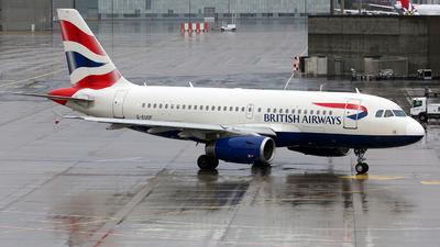 G-EUOF - Airbus A319-131 - British Airways