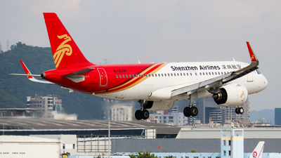A picture of B300N - Airbus A320271N - Shenzhen Airlines - © libohang