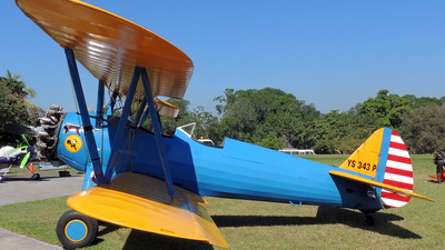 YS-343P - Boeing A75N1 Stearman - Private