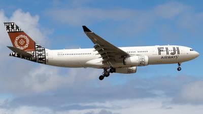 DQ-FJT - Airbus A330-243 - Fiji Airways