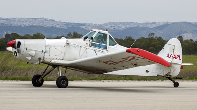 4X-APL - Piper PA-25 Pawnee - Private
