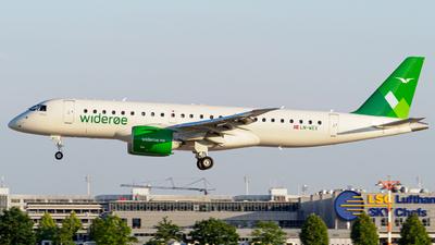 LN-WEX - Embraer 190-300STD - Widerøe