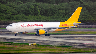 A picture of BLDD - Airbus A300F4605R - DHL - © yajoo