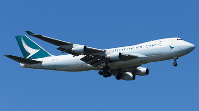 B-LID - Boeing 747-467ERF - Cathay Pacific Cargo