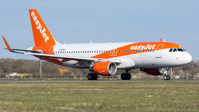 A picture of GEZGX - Airbus A320214 - easyJet - © Kyle McKinlay