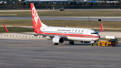 A picture of B1752 - Boeing 73789P - China United Airlines - © TasKforce404-HK416