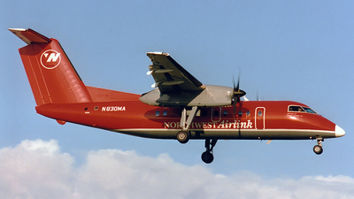N830MA - Bombardier Dash 8-102 - Northwest Airlink (Mesaba Airlines)