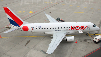 F-HBXB - Embraer 170-100LR - HOP! for Air France